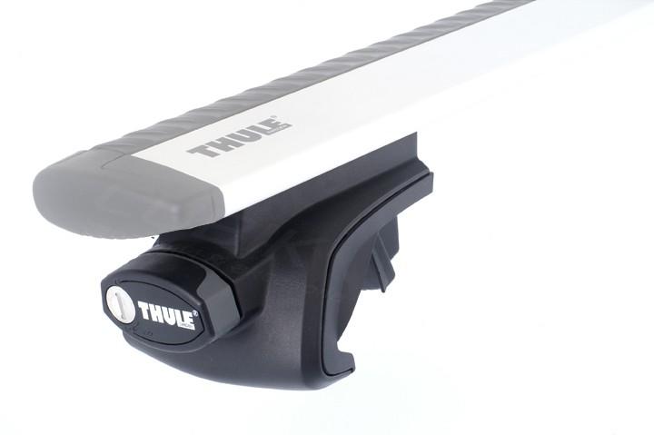 Thule Rapid System 757 voetenset voor auto's met een open dakrailing